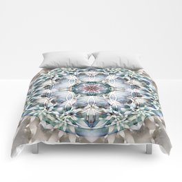 Flower of Life Mandalas 1 Comforters