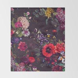Astro Garden Throw Blanket