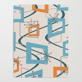 Mid Century Modern Minimalism Poster