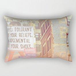 Tolerance Rectangular Pillow