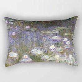 Water Lilies 1922 by Claude Monet Rectangular Pillow