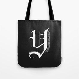 Letter Y Tote Bag