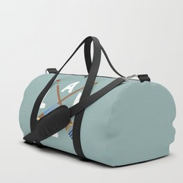 LAKE LIFE Painted Paddle Oars Duffle Bag