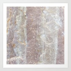 Sioux Falls Rocks #3 Art Print