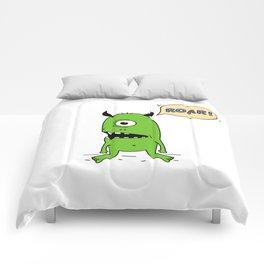 Roar! Monster! Comforters