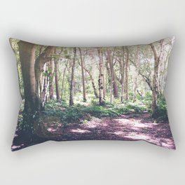 Forest Glare Rectangular Pillow