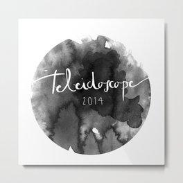 Sello Oficial Teleidoscope2014 Metal Print