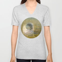 TMT / The Biggest Spatial Eye / EXPLORERS ONLY Unisex V-Neck