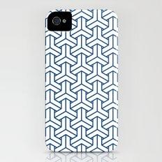 bishamon in monaco blue iPhone (4, 4s) Slim Case