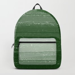 Forest Green Paint Gradient Backpack