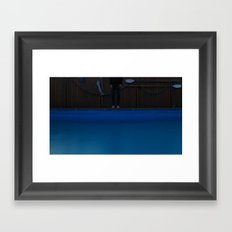 pool. Framed Art Print
