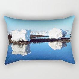 Baby Icebergs on the Tidal Shelf Rectangular Pillow