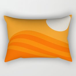Swell - Orange Crush Rectangular Pillow