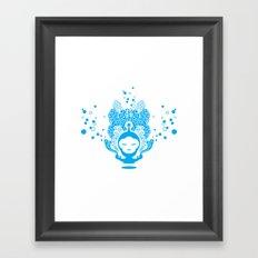 The Silent Monkey Framed Art Print