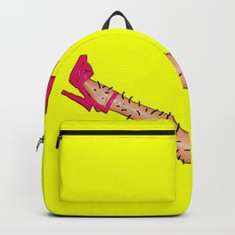 Nice Legs But You Need A Shave Love! Backpack