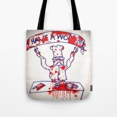 Swedish Chef Unrated Tote Bag
