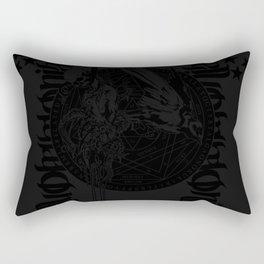 Contiuum777 black Rectangular Pillow