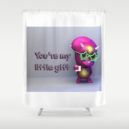 Tria Gift Love Shower Curtain