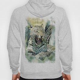 Leopard Cat Wildlife Hoody