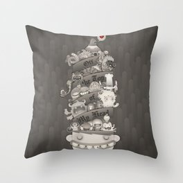 Off the Top of My Head Throw Pillow