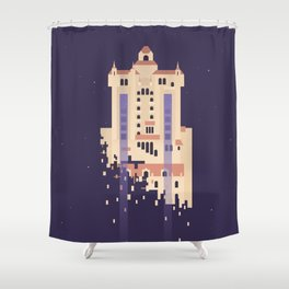 The Hollywood Tower Hotel Shower Curtain