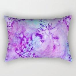 Batik Scent of Lilacs Rectangular Pillow
