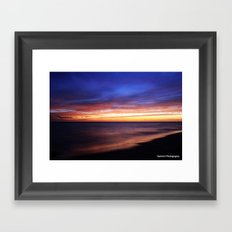 Bermuda Sunset Framed Art Print