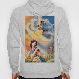 I want adventures in the great wide somewhere Hoody