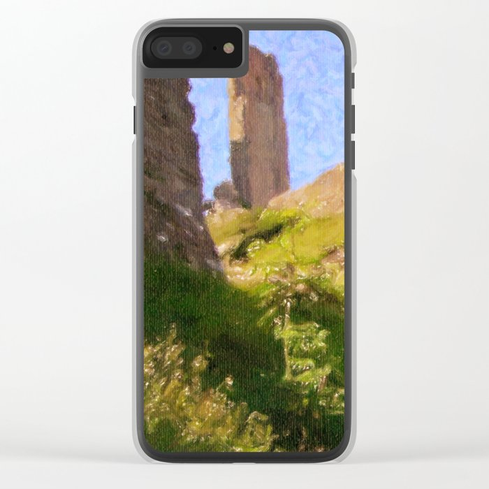 Corfe Castle Clear iPhone Case