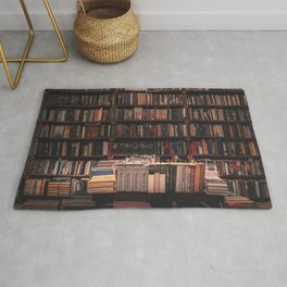 Old Book Shop Rug