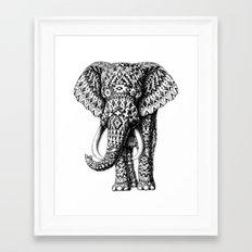 Tribal Elephant Framed Art Print