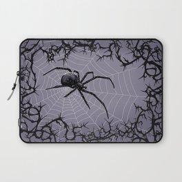 Briar Web - Gray Laptop Sleeve