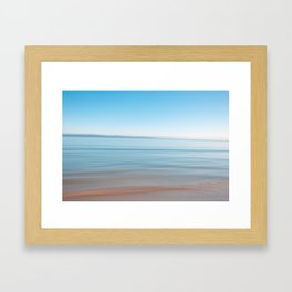 Ocean colors  Framed Art Print