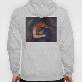 Edvard Munch - Love and Pain (The Vampire) Hoody