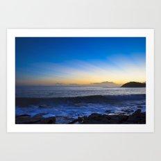 Sunrise: Manly Art Print