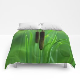 Cattails Melody Comforters