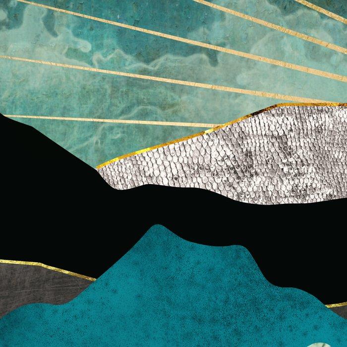 Peacock Vista Leggings