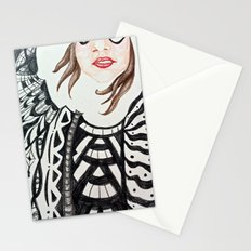 No Emotions are Left Stationery Cards