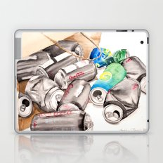 Spilled Cans Laptop & iPad Skin