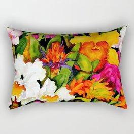Tropical Exuberance Rectangular Pillow