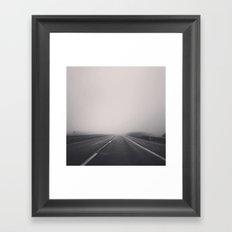 Morning Drive Framed Art Print