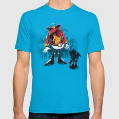 Gotta Crush 'Em All Teal SMALL Mens Fitted Tee