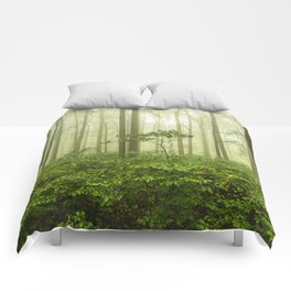 Dreaming of Appalachia - Nature Photography Digital Landscape Comforters
