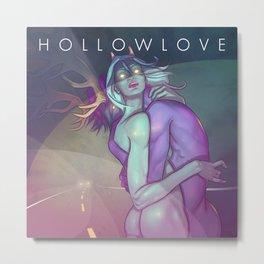 Hollowlove Hazardlights Metal Print