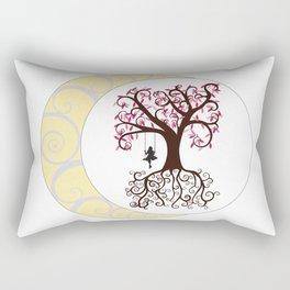 Swirls and a Swing Rectangular Pillow