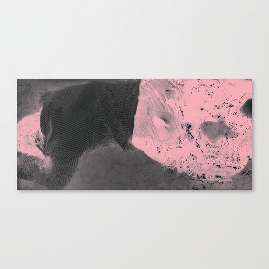 Pink Erosion Canvas Print