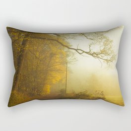 Overwhelm - Fall Feelings Rectangular Pillow