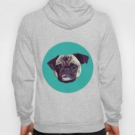 "Pug Graphic Design. ""Bijou"" Hoody"