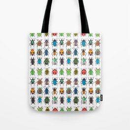 Beetle Species Tote Bag