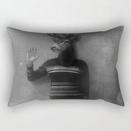Animals in my room (Deer) Rectangular Pillow